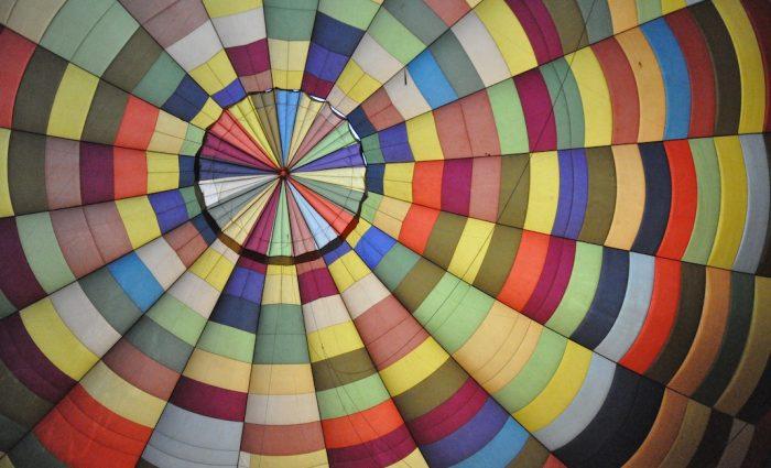 Hot Air Balloons & Technicolour Winds