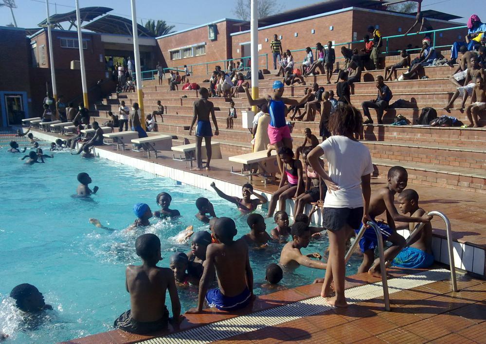 Swimming pools in Johannesburg